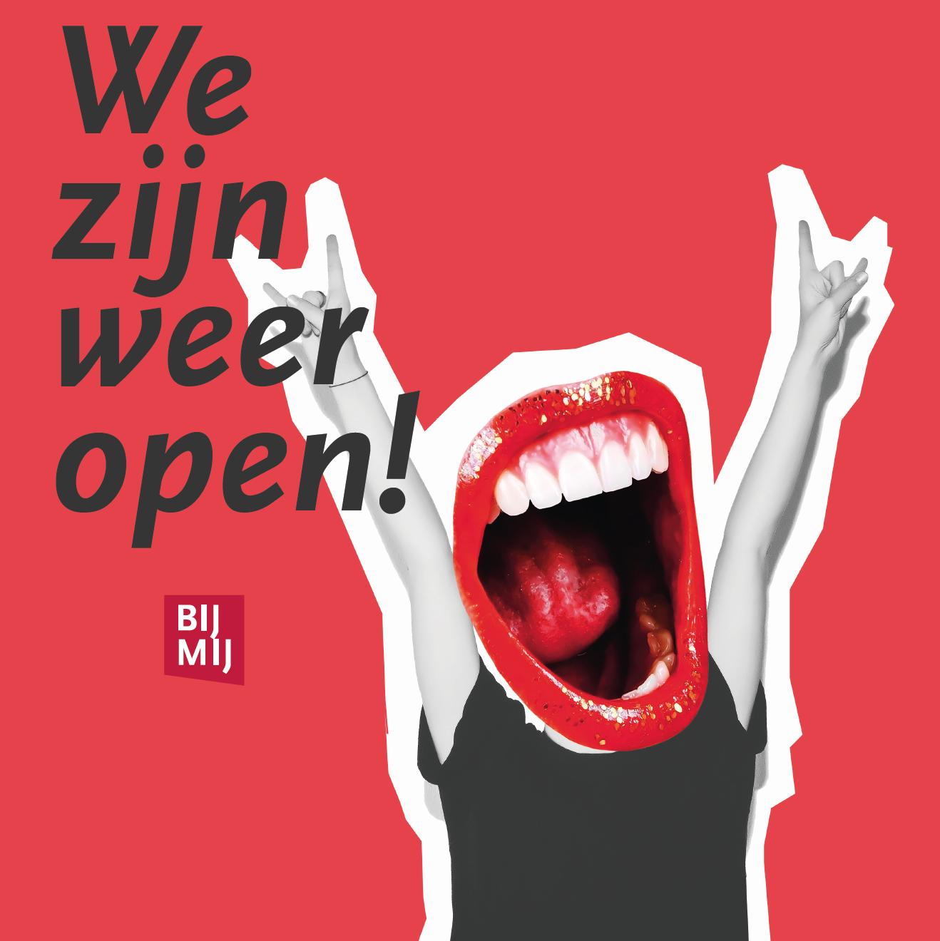 Weer open